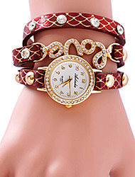 AIHAO Amore Carattere Decaretion Watch (Red)