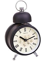 Timess ™ Big Single de Bell Night-light alarme Mute Horloge