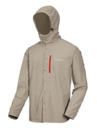 AMADIS Caqui Chinlon manga larga Anti-UV Pesca Jacket