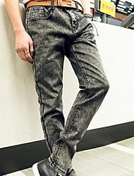 Uomo di stile coreano Skinny Jeans