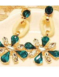 Earring Drop Earrings Jewelry Women Wedding / Party / Daily / Casual Alloy / Gold Plated
