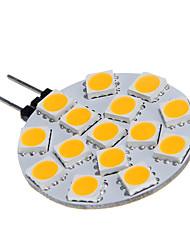 G4 15x5060SMD 3W 15LED chaud lampe d'ampoule Blanc