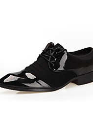 Men's  Leatherette Upper Ballroom Modern Dance Shoes