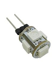 0.5W G4 LED Mais-Birnen T 5 SMD 5050 70 lm Warmes Weiß / Kühles Weiß / Blau / Grün DC 12 V