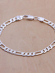 Women Fashion Casual Silver-plated Bracelet