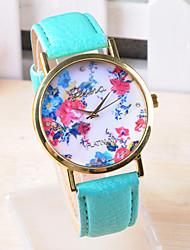 Omiya Women's PU Leather Wrist Watch DSC_0150