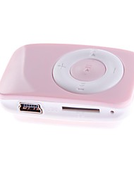ALB-1 Card Reader Portable TF MP3 Music Player com Clip