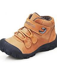Talon plat de Suede Enfants Bottes Confort neige avec des chaussures de Magic Tape (plus de couleurs)