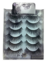6 pairscoolflower false eyelashes 049#