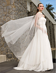 Lanting Bride® A-line / Princess Petite / Plus Sizes Wedding Dress - Chic & Modern / Glamorous & Dramatic Wedding Dresses With WrapSweep
