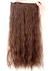 Clipes venda quente colorida Colour Bar atacado extensão do cabelo da menina de 24 polegadas