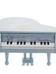 Piano Musical Instrument Toy Musical Gift (Blue)