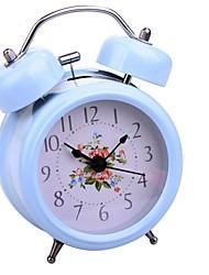 Timess ™ Double Cloche nuit-lumière Alarme Horloge Mute