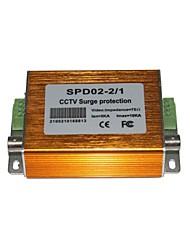 MHS ® 12V Pressão Residual 2 em 1 SPD Proteção contra Descargas Atmosféricas DeviceFor poder e proteção contra raios de vídeo Linha