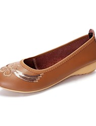 Leather Women's Wedge Heel  Pumps  Shoes(More Colors)
