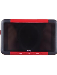 PC98 Inch Portable 3 con radio FM digital MP5 Player (4GB)