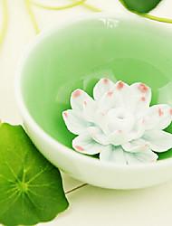 "1.6 ""H lotiforme Bol en porcelaine"