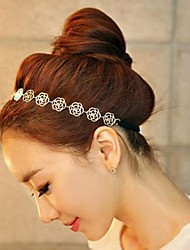 Women's Vintage Floral Alloy Headband