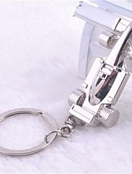 Beautiful Guitar Stainless Steel Key Chains Kike Cool F1 Car Model Keychain