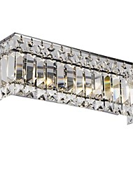 Crystal Wall Sconces , Modern/Contemporary G4 Metal