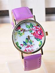 Omiya Women's PU Leather Wrist Watch DSC_0226