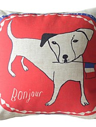 Dog: Good Morning, French Well Decorative Pillow Cover