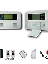 Gsm and Pstn Alarm System Wireless Home Security System and Alarm Auto-Dial and 100 Wireless Zone