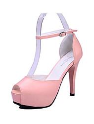 Vinda Women's Shoes Pink/Purple/White Stiletto Heel 10-12cm Pumps/Heels (PU)