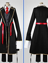 Inspired by Jooubachi no Oufusa Ruby Anime Cosplay Costumes Cosplay Suits Patchwork Black Long SleeveCoat / Vest / Shirt / Pants / Tie /
