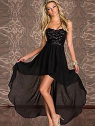 Women's Dresses , Chiffon Sexy Jess Style