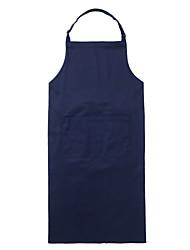 Restaurant uniformes une poche ajustable genou bavoir tablier