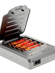 TrustFire 3000mAh 18650 (4 piezas) + TrustFire TF-003 Cargador de batería para 18650 (para 4 baterías)