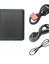 iPod iPhone 3,5 milímetros Aux In e Bluetooth opcional Adapter Car MP3 Player para Mercedes Benz W140 W202 W210 1994-1998