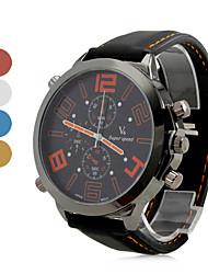Relógio Casual de Silicone para Homem