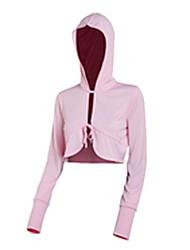 Mujeres Amadís Pink poliéster de manga larga Anti-UV Pesca capa del cortocircuito