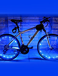 FJQXZ 18 LED 2 modes de recyclage bleu de lumière de roue - 1 PC