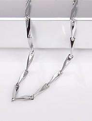 eruner®unisex 2mm die Kette der Samen Silber Halskette Nr.84