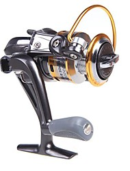 8BB roulements à billes gauche / droite interchangeable Poignée pliable moulinet spinning ST3000 5.1:1 (0.22mm/200m)