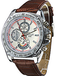 imitación del negocio del reloj de cuarzo de cuero de los hombres shinuo