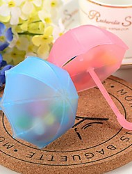 Cute Umbrella Design Favor Boxes - Set of 12(More Colors)
