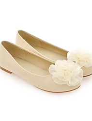 Women's Wedding Shoes Comfort Flats Office & Career/Dress/Casual Black/Pink/Red/Beige
