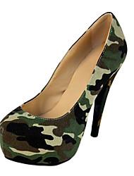 Zapatos de mujer - Tacón Stiletto - Tacones / Plataforma - Tacones - Casual / Fiesta y Noche - Tela / Nailon - Negro