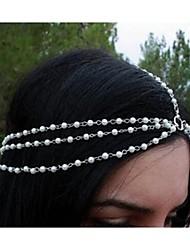 moda coringa real tiara de pérolas delicadas das mulheres