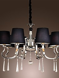 40W Chandelier ,  Modern/Contemporary / Traditional/Classic / Rustic/Lodge / Vintage / Country / Island Chrome Feature for Candle Style