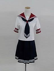 inspirado por Akuma no crivo Mahiru Shinya Banba trajes cosplay