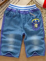 Boy's Cotton Blend Jeans , Summer