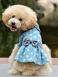 Summer Cotton Dresses for Dogs Blue / Pink / Green M / XL / S / L / XXL