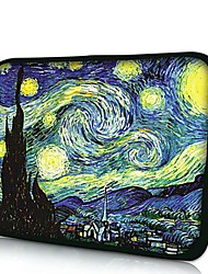 Elonno Van Gogh's Paintings Neoprene Laptop Sleeve Case Bag Pouch Cover for 7'' Samsung Galaxy Tab iPad Mini