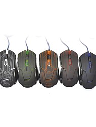 Rhorse RH-2800 800/1600/2400/3200dpi Colorful Glare USB Engines Gaming Mouse