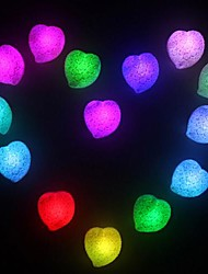 Coway Love Romantic Colorful Heart-Shaped LED Night Light